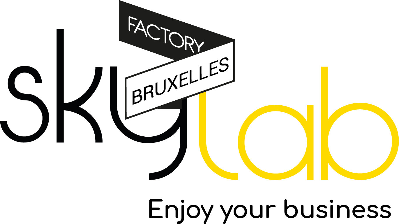 Skylab Factory - Logo + Baseline (Bruxelles)