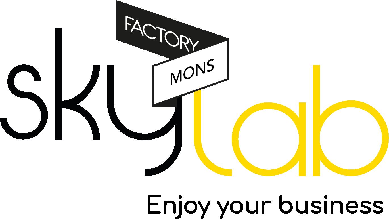 Skylab Factory - Logo + Baseline (Mons)